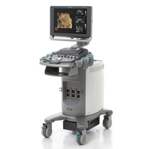 Siemens Acuson X300 PE Ultrasound Machine 1