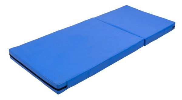 Blue Single Bed Folding Foam Mattress for Back Pain
