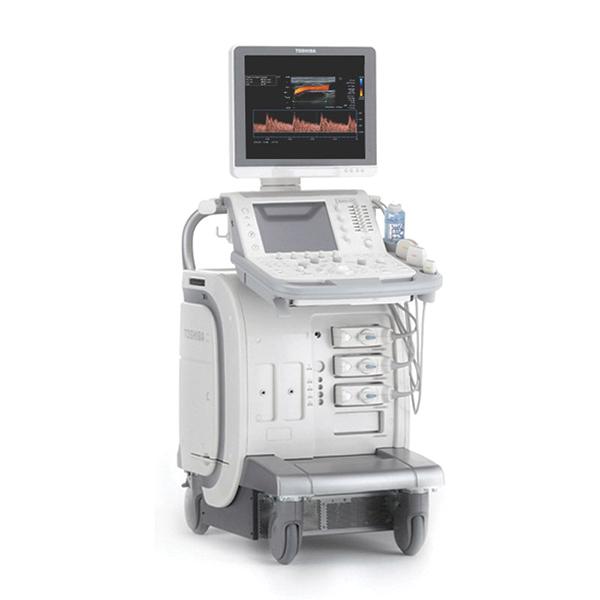 Toshiba Aplio 300 CV Platinum Ultrasound Machine