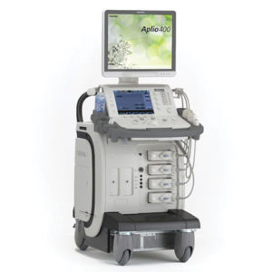 Toshiba Aplio 400 Platinum Ultrasound Machine