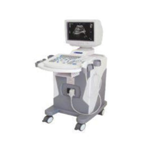 Ultrasound With Trolley 2D Black And White Display – Single Probe