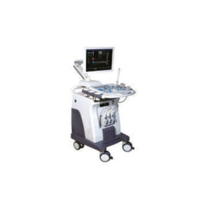 Ultrasound with trolley 3D Color Display with Single Probe