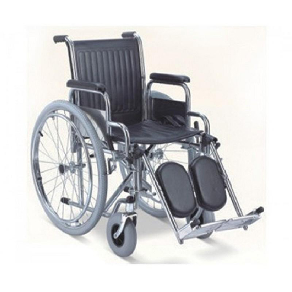 Wheel Chair Folding With Detachable Armrest And Foot Rest Leg Eleva Tor 902C