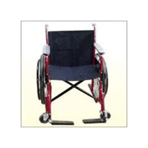 Wheel Chair Painted With Breaks 4 Inches Wheels