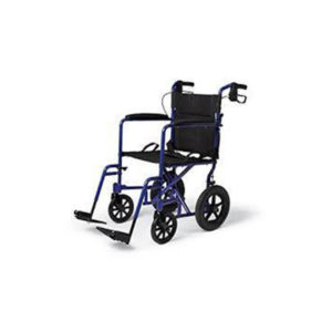 Wheel Chair With 6 Inches Wheels Powder Coated