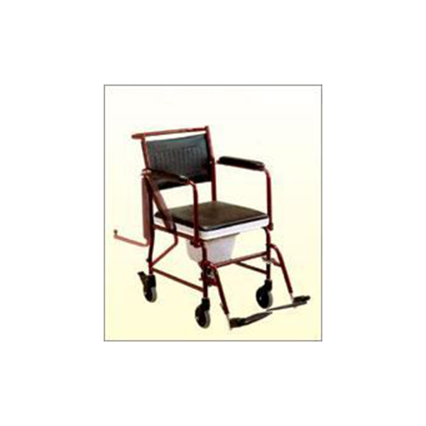 Wheel Chair With Commode With Detachable Arm Rest And Foot Rest F681 1