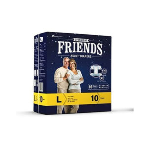 ADULT DIAPER Friends Large10GCOS