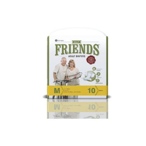 ADULT DIAPER Friends Medium 10GCOS