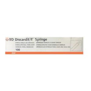 B.D Discardit 2ml 22G X 1