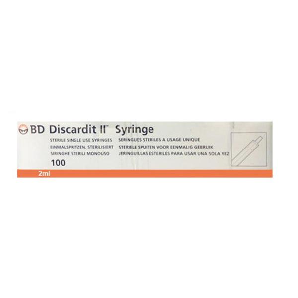 B.D Discardit 2ml 24 Gx 1