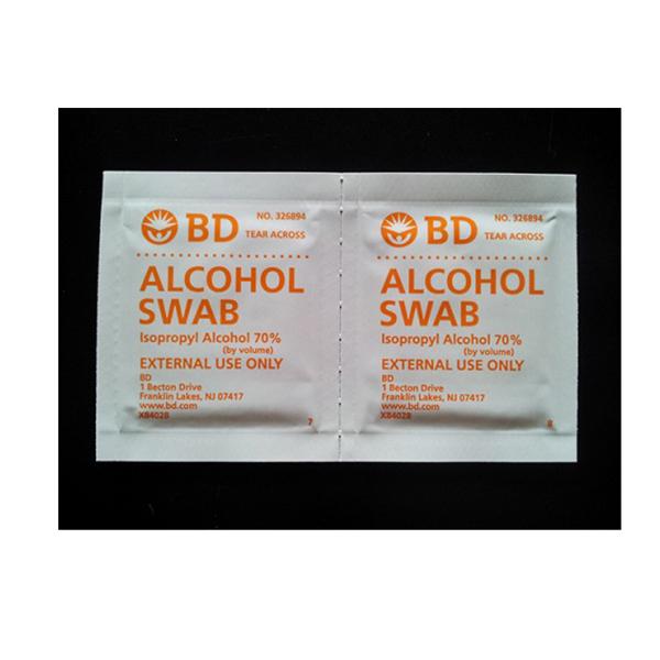 BD Alcohol Swabs 1