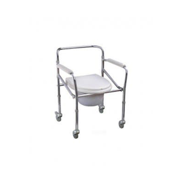 Commode Wheel Chair 1