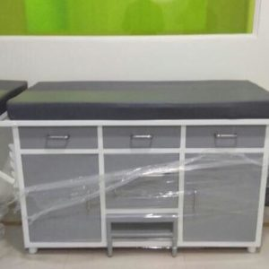 Patient Examination Table for Hospitals and Clinics, LPC with Mattress, Size: 2 x 6 x 1.8