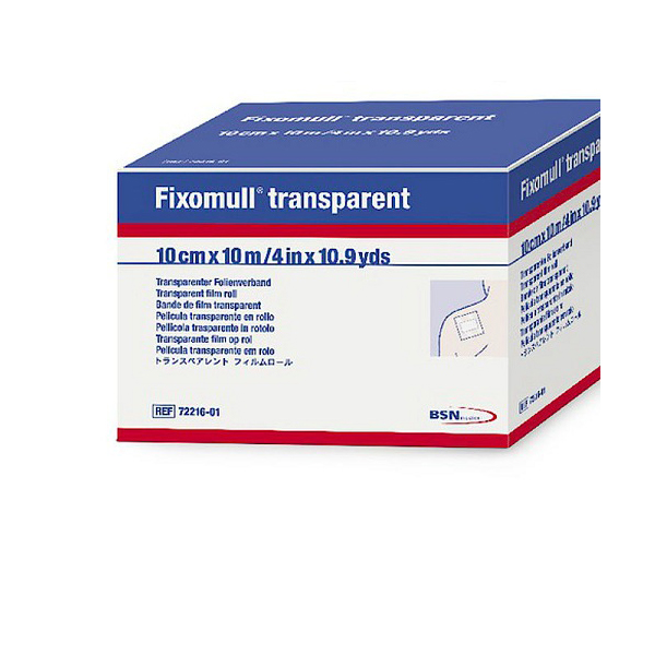 Fixomull Transparent 10 X 10