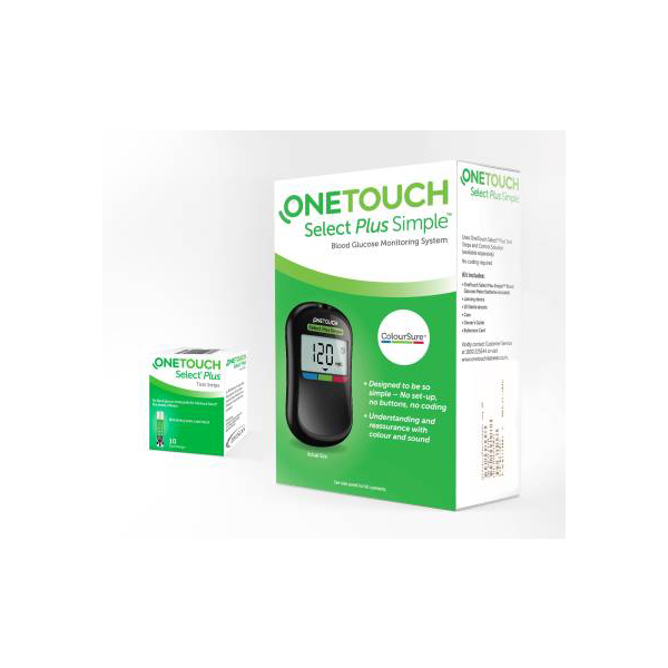 OneTouch Select Plus Simple Glucometer 1