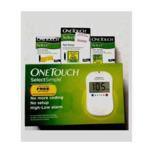 OneTouch Select Simple Glucometer 1