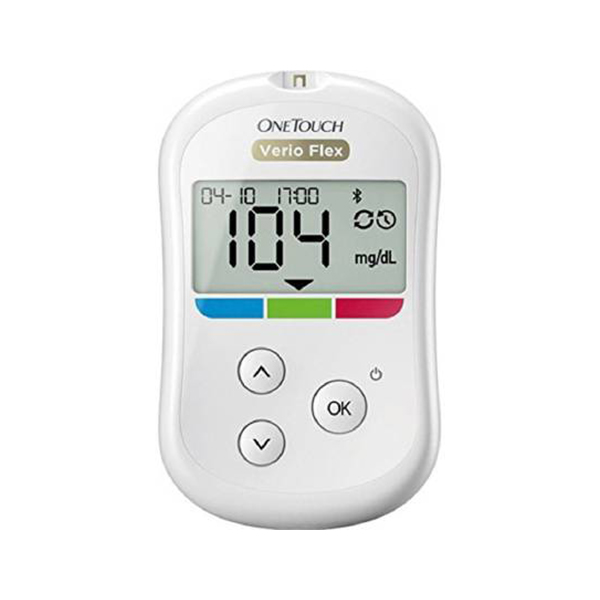 OneTouch Verio Flex Blood Glucose Monitor Glucometer