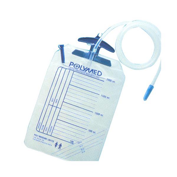 Polyuro Premium Urin Bag Bottom Outlet 1