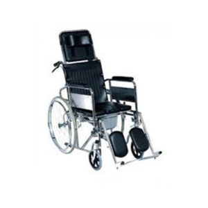 Reclining Wheel Chair With Commode