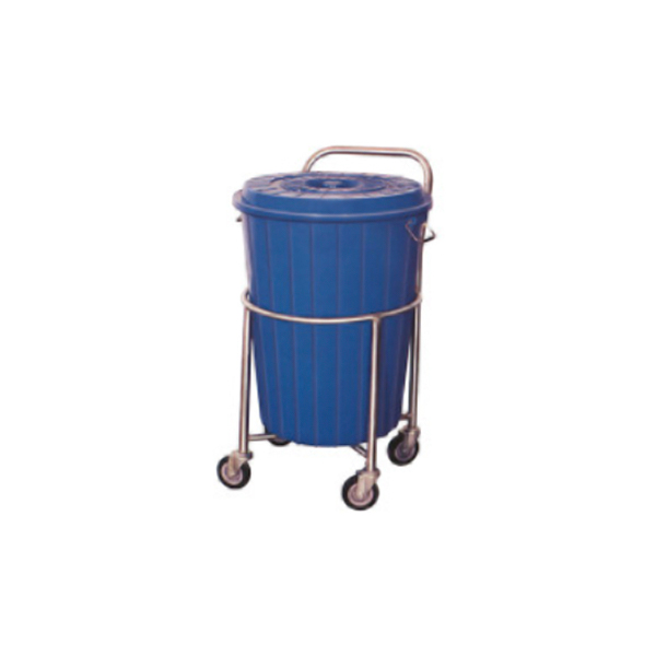 Soiled Linen Trolley With Plastic Bucket – MF3927