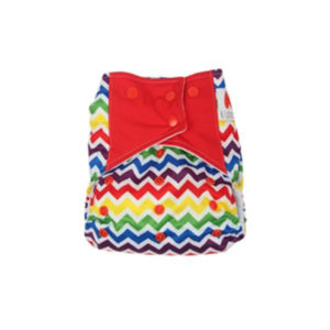 Cloth Diaper With Insert Red