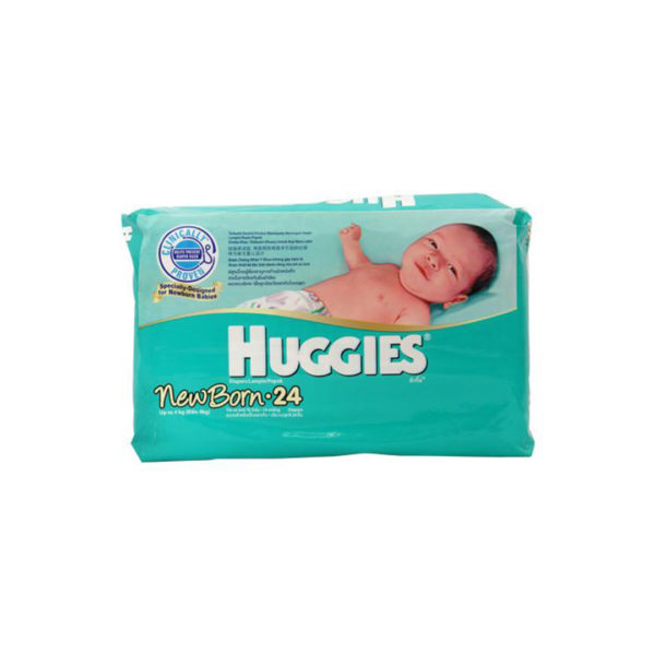 Huggies New Born Diapers 24s