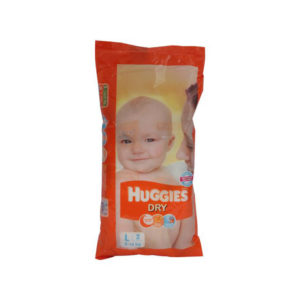 Huggies New Dry Large Diapers 2s