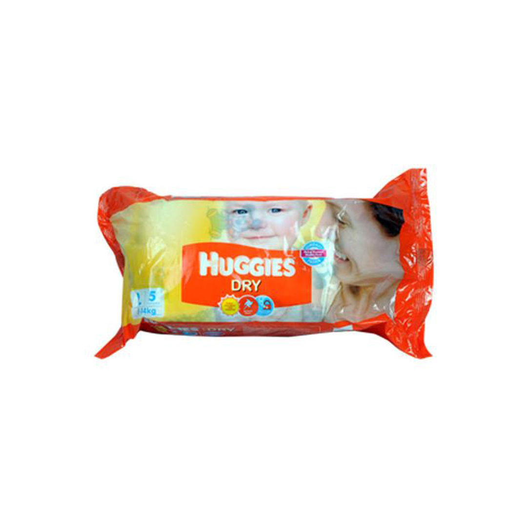 Huggies New Dry Large Diapers 5s