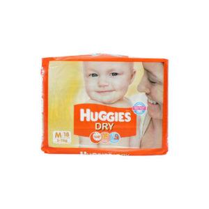 Huggies New Dry Medium Diapers 18s