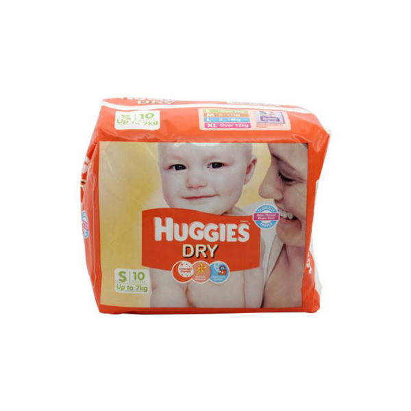 Huggies New Dry Small Diapers 10s