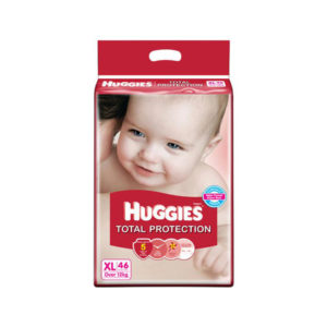 Huggies Total Protection Extra Large 46s Diapers
