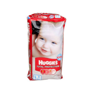 Huggies Total Protection Large 5s Diapers