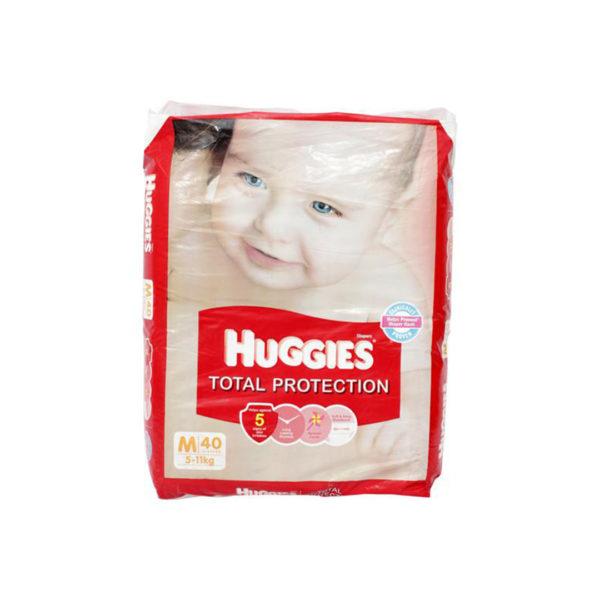 Huggies Total Protection Medium 40s Diapers
