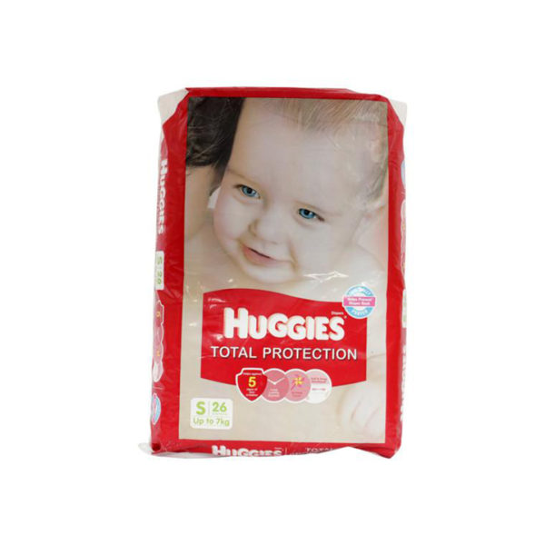 Huggies Total Protection Small 26s Diapers