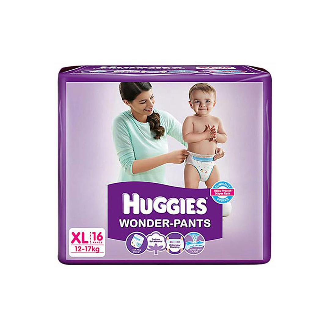 Huggies Wonder Pants Diapers Xl 16s