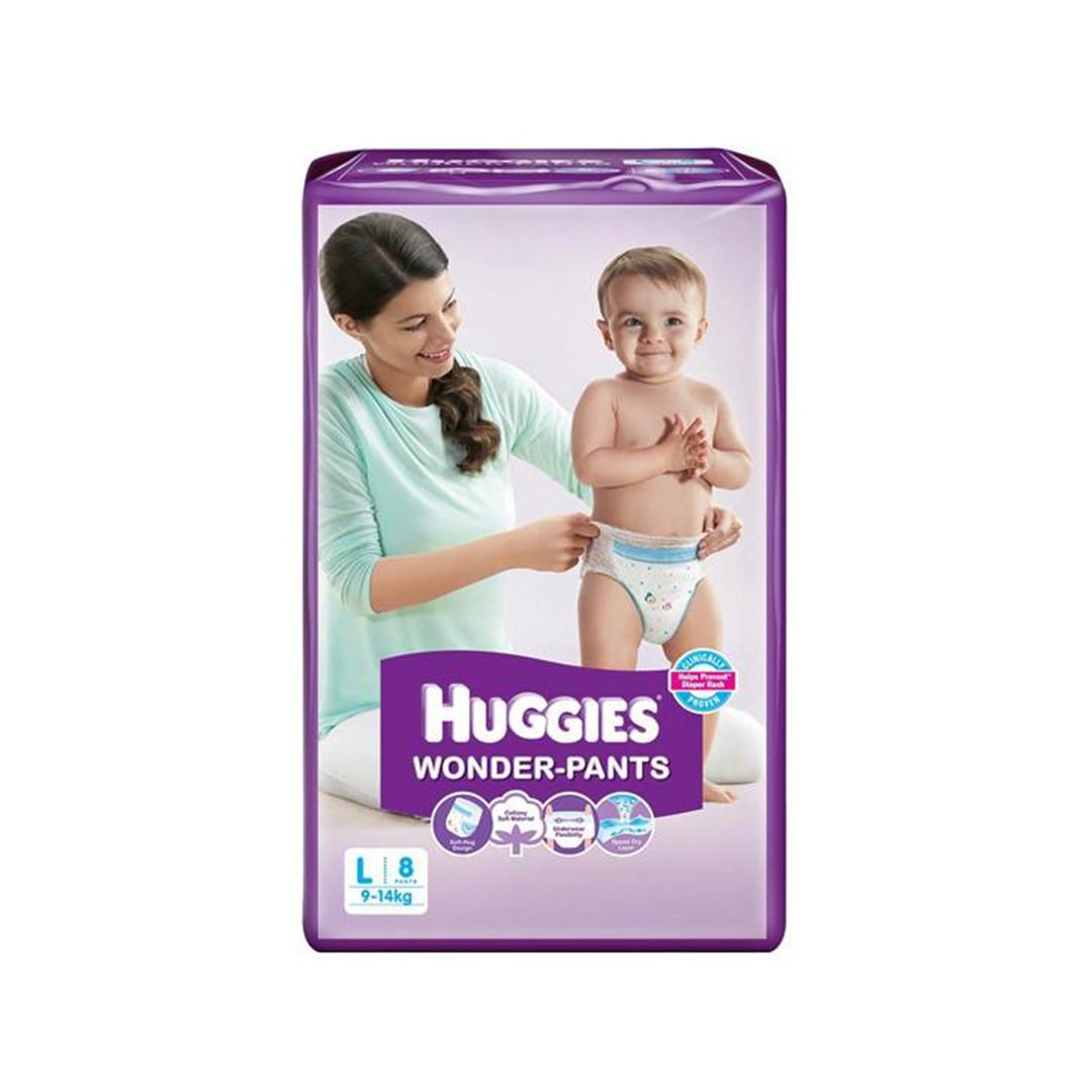 Huggies Wonder Pants Large 8s 1