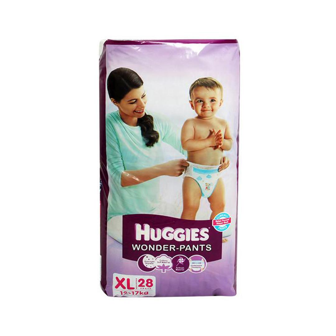 Huggies Wonder Pants Xl 28s