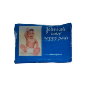 Johnson Baby Nappy Pads Sanitary Napkeens 10s