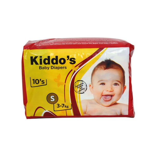 KiddoGCOs Baby Diapers Small 10s 1
