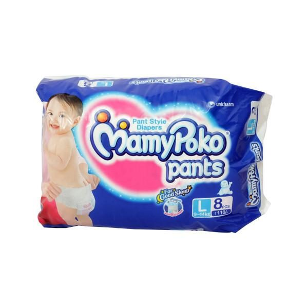 Mamy Poko Pants L 8s
