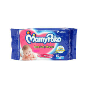 Mamy Poko Baby Wipes 50s