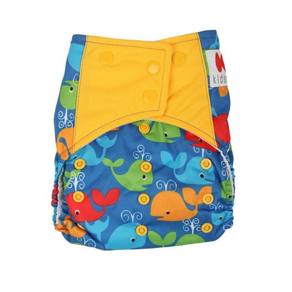 Offspring Cloth Diaper With Insert For Babies