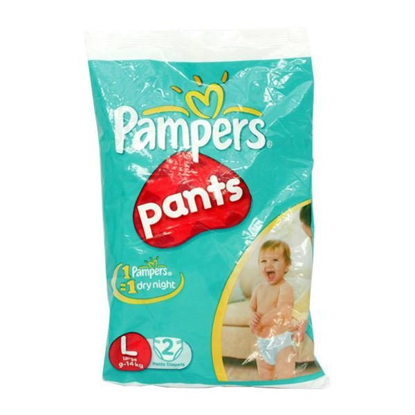 Pampers baby dry pants large 2s