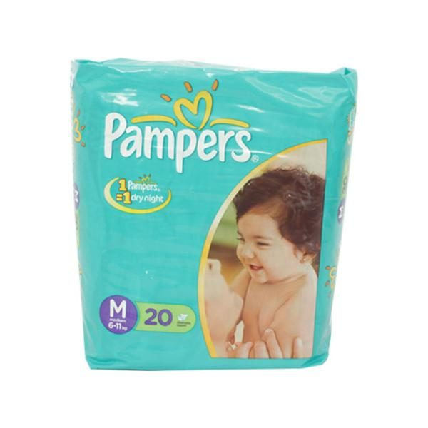 Pampers M Diapers 20s