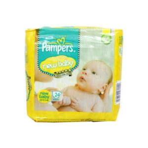 Pampers New Baby Diapers 24s