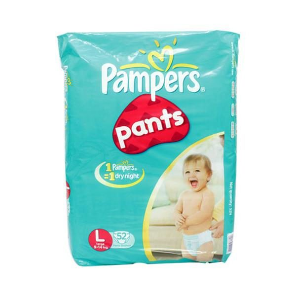 Pampers Pant Diapers L 52s