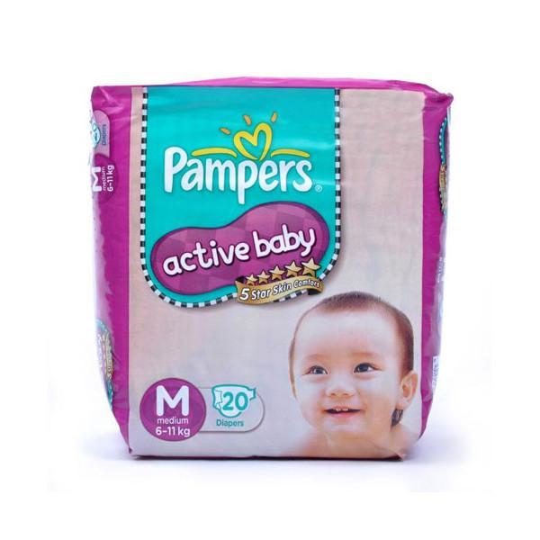 Pampers Active Baby Medium 20s