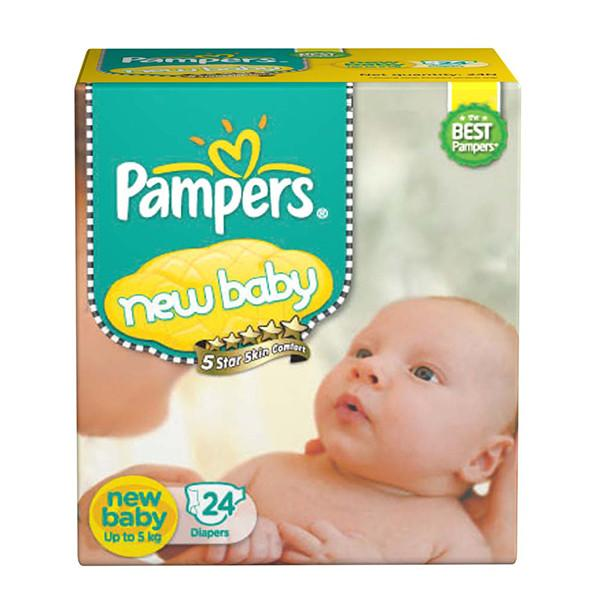 Pampers Active Baby New Baby 24pc
