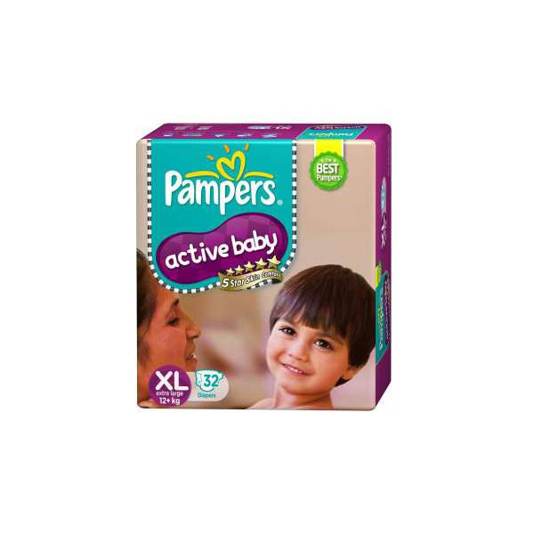 Pampers Active Baby Xl 32pc