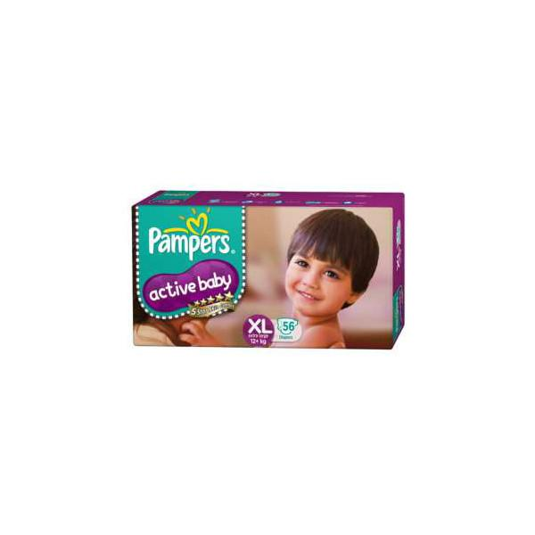 Pampers Active Baby Xl 56pc